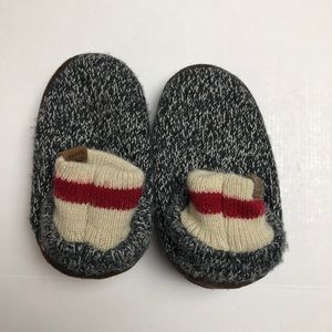 Roots Slippers Kids Small Salt and Pepper Acrylic